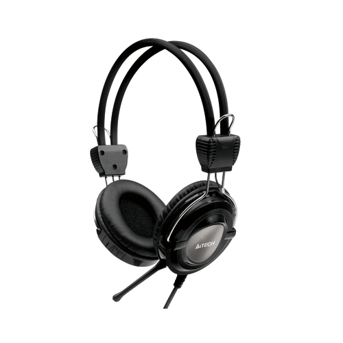 A4tech HS19 3.5mm Headphone Black
