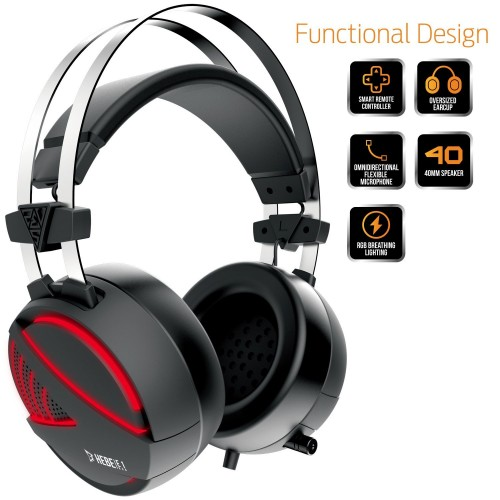 Gamdias HEBE E1 RGB Wired Gaming Headset