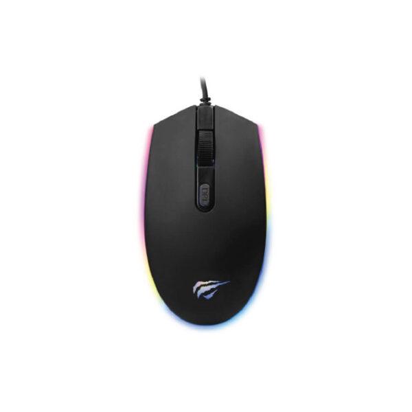 Havit MS1003 RGB Optical Black Gaming Mouse