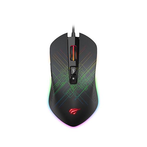 Havit MS1019 RGB Gaming Mouse (Black)
