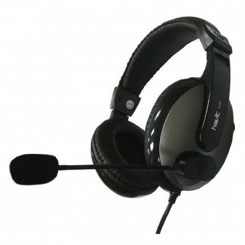 Havit HV-139D 3.5mm Stereo Headphone Black (Double Port /Single Port)