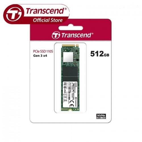 Transcend 110S 512GB M.2 2280 (M-Key) PCIe Gen3x4 SSD