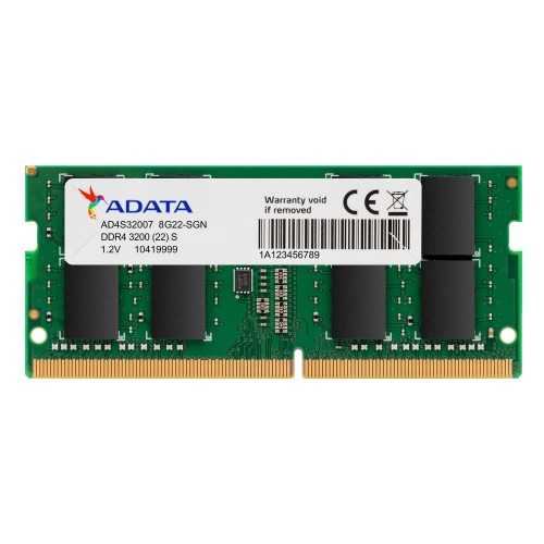 Adata 8GB DDR4 3200MHz Laptop RAM