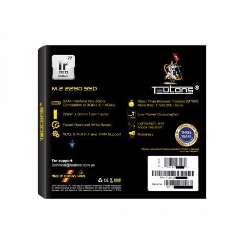 TEUTONS IRIDIUM 2280 128GB M.2 SSD