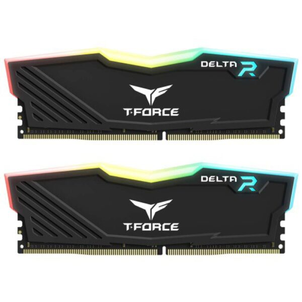 Team Delta RGB 16 GB (2 x 8 GB) DDR4 3200Mhz Desktop Ram