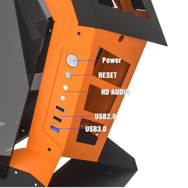 darkFlash Knight K1 ATX Mid Tower With Tempered Glass Gaming Case