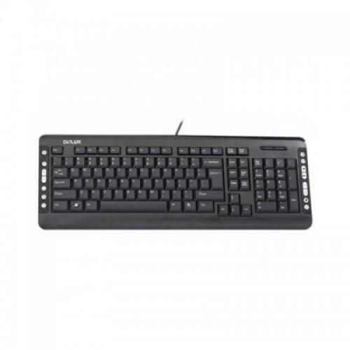 Delux DLK-5015 USB Multimedia Keyboard