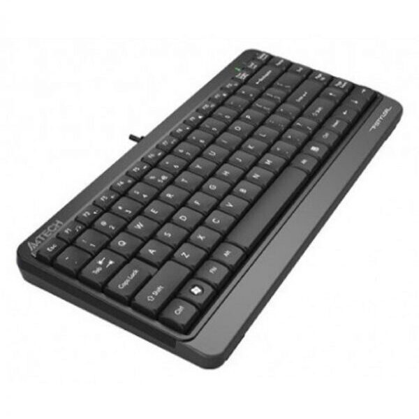 A4Tech FK11 Grey USB FN-Hotkeys Multimedia Mini Keyboard